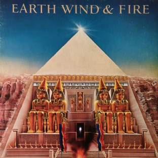 Earth, Wind & Fire ‎- All 'N All (LP) (VG+/G+)